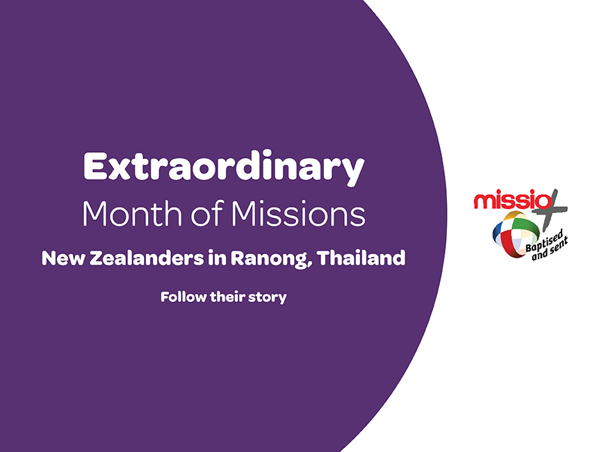 Extraordinary month of missions